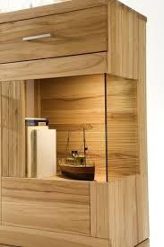 highboard sideboard schrank vitrine wohnzimmer esszimmer kernbuche massiv