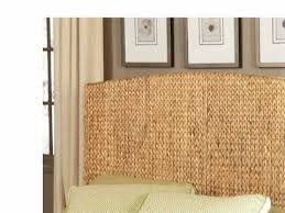 Pottery Barn Seagrass Headboard by Seagrass Headboard Queen Seagrass Bed Headboard Pottery Barn For
