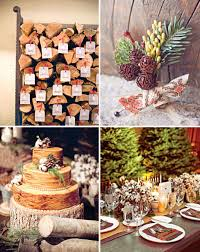 Rustic Winter Wedding Decorations For Unique