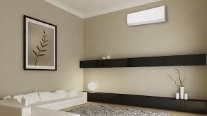 Ceiling Cassette For Mr Slim Mini Split by Halcyon Single Room Mini Split Systems Air Conditioner And Heat