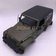 100 Rc Army Trucks 110 Scale RC Rock Crawler Truck Body Shell 110 JK JEEP WRANGLER