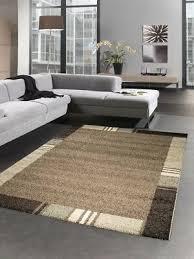 huis vimoda moderner teppich für wohnzimmer beige hohe