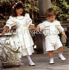 Matching Flower Girl Dresses And Boys Ring Bearer Suit One Of My Favorites But I Have A Feeling This Would Be Kate Cryds Least Favorite
