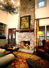 Cabin Cottage House Plan Fireplace Photo 02 For Home Also Known As The Wells Branch Farmhouse From Plans And More