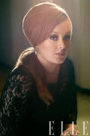 Adele Sitting Pretty In Vintage Alberta Ferretti Hairstyles Bouffant Ponytail
