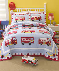 100 Fire Truck Bedding Rescue Quilt Set By Pem America Zulily Zulilyfinds Cole