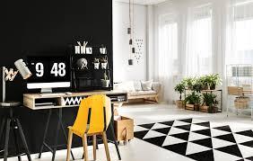 arbeitsplatz im wohnzimmer integrieren so trennen sie