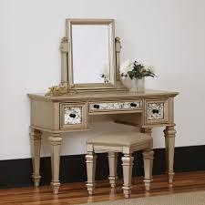 Vanity Mirror Dresser Set by Makeup Vanities Bedroom Furniture The Home Depot