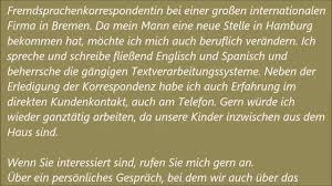 Brief Einer Deutschen Lehrerin An Die Eltern WELT