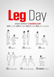 Best 25 Leg Day Workouts Ideas On Pinterest
