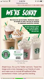 4Chan Hoax Claims Starbucks Is Giving Free Coffee Coupons To ... Tim Hortons Coupon Code Aventura Clothing Coupons Free Starbucks Coffee At The Barnes Noble Cafe Living Gift Card 2019 Free 50 Coupon Code Voucher Working In Easy 10 For Software Review Tested Works Codes 2018 Bulldog Kia Heres Off Your Fave Food Drinks From Grab Sg Stuarts Ldon Discount Pc Plus Points Promo Airasia Promo Extra 20 Off Hit E Cigs Racing Planet Fake Coupons Black Customers Are Circulating How To Get Discounts Starbucks Best Whosale