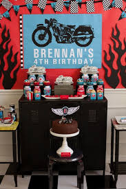 Party Reveal Motorcycle Birthday
