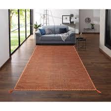 theko exklusiv teppich micol rechteckig 3 mm höhe wendeteppich wohnzimmer