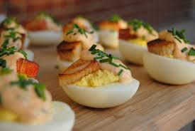 Chipotle Halloween Special 2013 by Steaknpotatoeskindagurl Crab And Chipotle Aioli Deviled Eggs