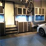C Tech Garage Cabinets by Garage Interior Design U0026 Renovation Nuvo Garage U2014 Garage