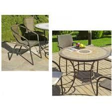 table ronde mosaique fer forge déco maison table ronde 4 fauteuils fer forgé mosaïque résine