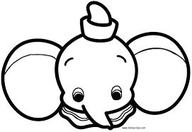Disney Cuties Coloring Pages For