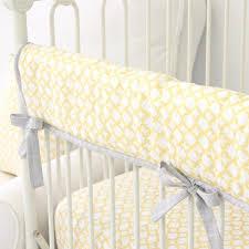 ryan s yellow gray crib bedding caden lane