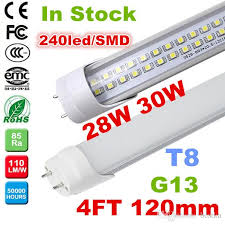 promotion 4ft t8 led high bright 28w 30w warm cold