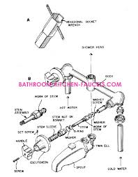 2 Handle Kitchen Faucet Diagram by Nice Two Handle Kitchen Faucet Repair About Interior Home Trend