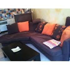 canapé marron conforama canape d angle folk marron orange confo à ghyvelde meubles