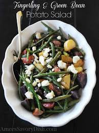 Roasted Fingerling Potato Salad With Green Beans And Feta Cheese Is A Delicious Easy To