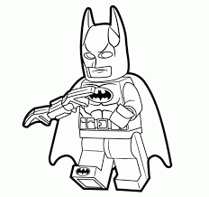 Lego Superhero Coloring Pages Nucoloring Xyz