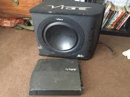 Used Vibe Subwoofer And Amplifier Car Truck 4x4 In HP3 Hempstead For ... Building An Mdf And Fiberglass Subwoofer Enclosure How Its Done 12004 Toyota Tacoma Double Cab Truck Dual Sub Box 1800wooferscom Qpower Qbtruck112v 12 Truck Series Ported Box Custom Fitting Car Boxes Powerbass Pswb112t Loaded With A Single Regular Cab Doin Work Youtube Kicker Demo For Sale Chevy Ck Ext 8898 Dual Sub Bass 4 Inch 60w 220v Ultra Slim Powered Amplifier