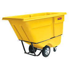 Rubbermaid FG131500YEL Yellow 1.0 Cubic Yard Tilt Truck (1250 Lb.) Rubbermaid Fg102800bla Rectangle Dome Tilt Truck Lid Plastic Black Cart Wheels Trash Cans Rubbermaid 135 Cu Ft Capacity 450 Lb Load Akro Mils 60 Gal Grey Without Tilt Truck Max 2722 Kg 1011 Series Videos Rotomolded By Commercial Rcp1314bla Cleaning Equipment Supplies Refuse Control Debris Removal Carts Trucks In Stock Uline Abandoname Dump 1 2 Cubic Yard 850pound