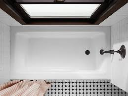bellwether 60 x 32 alcove bath with integral apron and right
