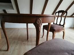 antike esszimmer möbel retro tisch schrank stuhl