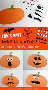 Pumpkin Patch Parable Craft by Halloween Jack O Lantern Craft For Kids To Make This Fall