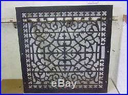 large floor cold air 24 x 24 furnace cast iron register heat grate