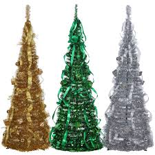 7ft Fibre Optic Christmas Tree Ebay by Homegear 5ft Artificial Decorated Collapsible Christmas Tree Xmas