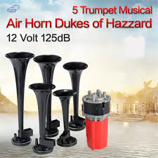 12V 125db Car Trumpet Musical Dixie Duke Hazzard Universal Auto ... Truck Air Horn Diagram Online Schematics Perfect Replacement 125db 5 Dixie Musical Dukes Of Hazzard Flying Toyota Tacoma With Youtube Dixie Horn For Truck Amazoncom Dixieland Premium Full 12 Note Version 12v Trumpet Car For Original Air Horn Kit General Lee Dukes Hazard Southern What Happened To All Those Chargers Destroyed In