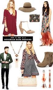 What To Wear A Boho Barn Wedding