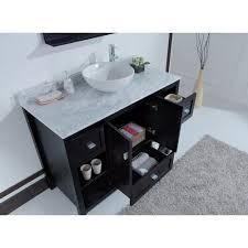 Single Sink Bathroom Vanity With Granite Top by Sienna 48 Inch Contemporary Single Sink Bathroom Vanity With