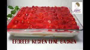 erdbeer kuchen ohne backen i no bake cake
