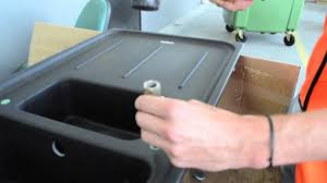 Schock Sinks Cleaning Products by Franke How To Drilling A Tap Hole In Fragranite Sink Youtube