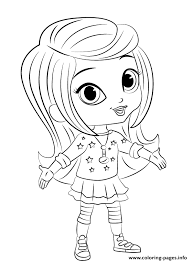 Shimmer And Shine Leah 1 Coloring Pages Print Download