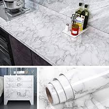 livelynine klebefolie marmor folie arbeitsplatte küche selbstklebende folie für möbel tisch küchenarbeitsplatte laptop arbeitsplatte küche