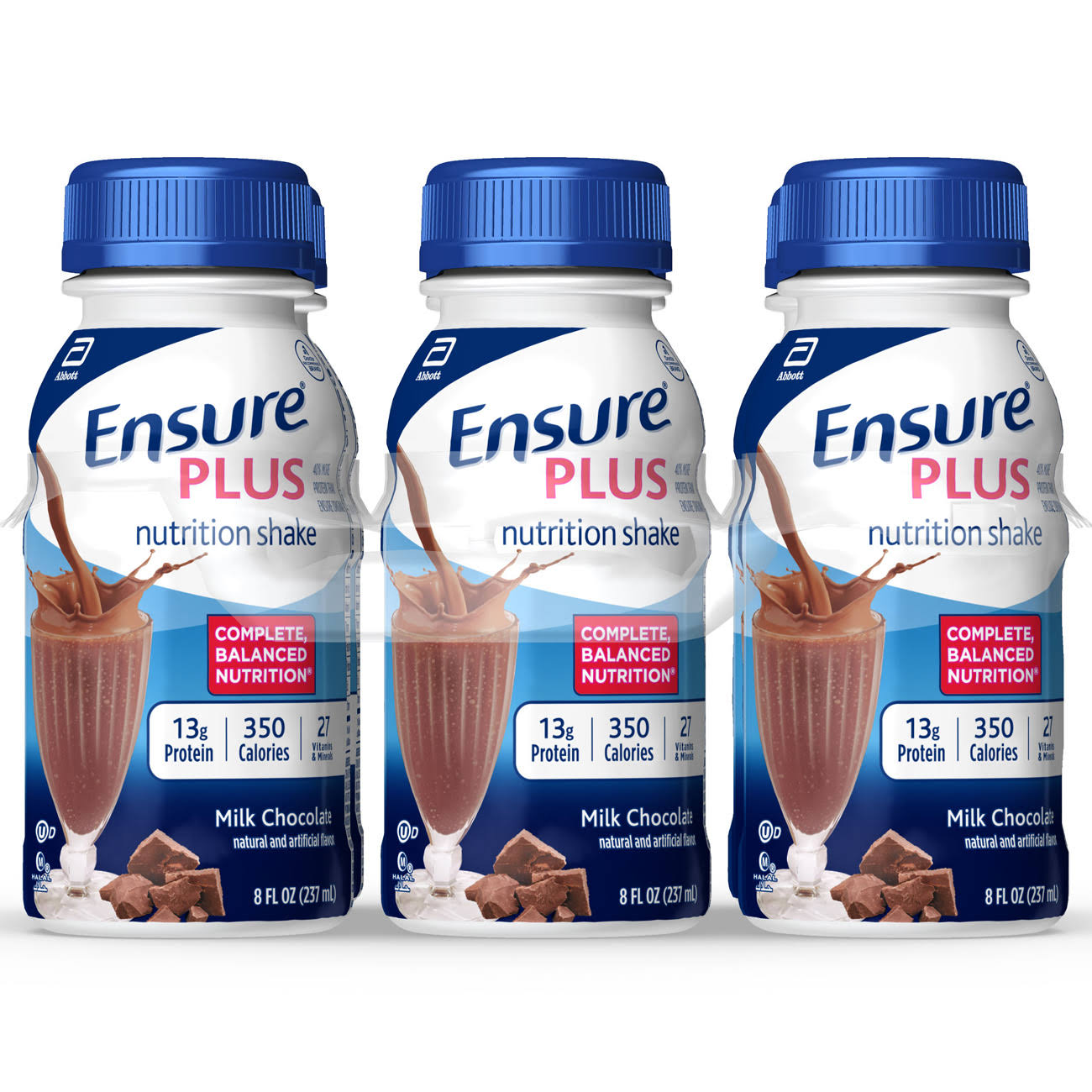 Abbott Ensure Plus Milk Chocolate Nutrition Shake