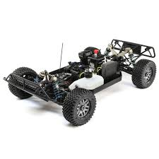 Losi 1/5 5IVE-T 2.0 4WD Short Course Truck Gas BND, Grey/Blue/White ...