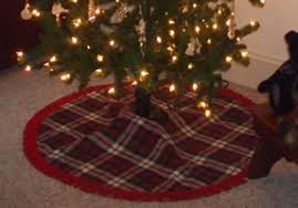Donald Tartan Christmas Tree Skirt