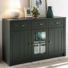 landhaus anrichte sideboard grün kommode wohnzimmermöbel esszimmerschrank led ebay