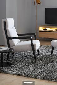 sessel jenson mit holzgestell wohnzimmer modern