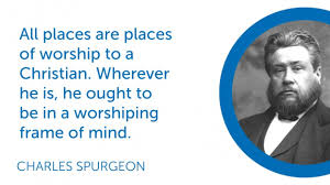 Spurgeon Quote On Worship