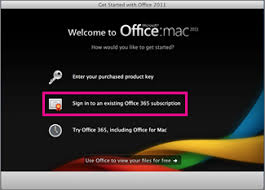 Activate fice for Mac 2011 fice Support