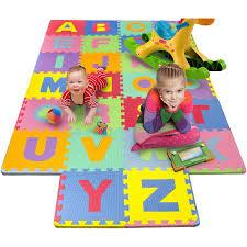 Foam Floor Mats Baby by 26 Piece Foam Floor Alphabet Puzzle Mat For Kids Multi Color