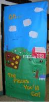 Dr Seuss Door Decorating Ideas by Read Across America Week The Lorax Door Decoration Doors